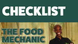 Checklist Food Mechanic