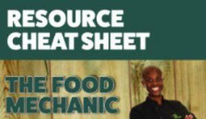 Resource Cheat-Sheet Logo